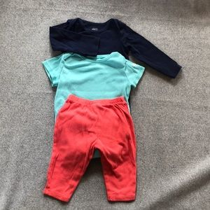 Other - Lot of three pants onesies